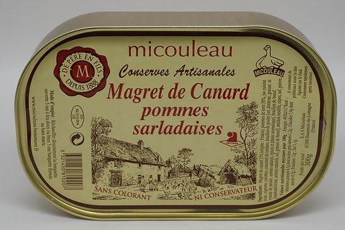 Duck Magret with Sarladaises Potatoes - Magret de Canard aux Pommes Sarladaises