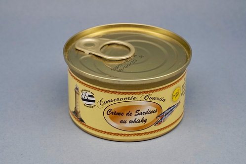 Cream of Sardine with Whisky - Crème de sardines au Whisky - 130g
