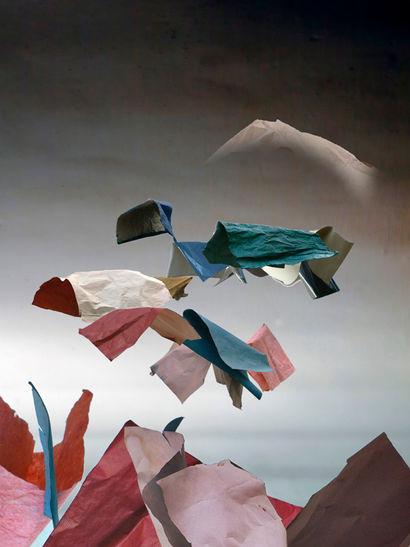 Viaje a Chilina / Papel Mojado series / 70x50 cm / 2015 / Archival pigment print / Edition: 5