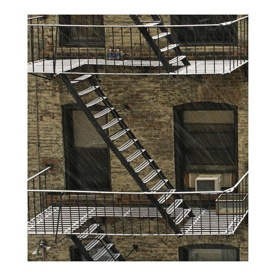 Snowstairs. New York / 2008 / 100 x 80cm / 2008 / C-print / Edition: 5