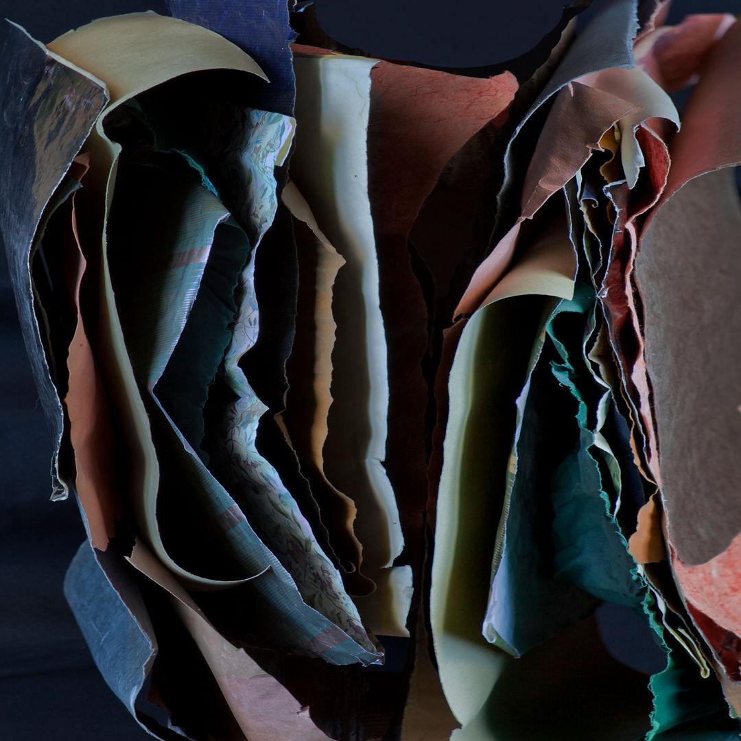 Mural PAM 1 / Papel Mojado series / 100x100 cm /Archival pigment print / 2015 / Edition: 3