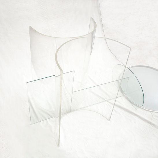 Glassair · Tempo / 70x70 cm / 2016  Tinta impresa en metacrilato / Ink print on methacrylate / Edition: 5