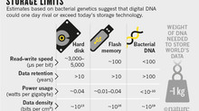 Storing your data on DNA?