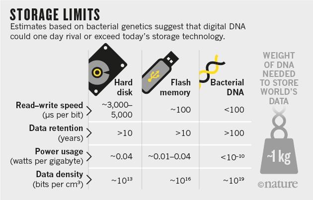 Storage limits