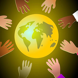 Globe with diverse hands.jpg