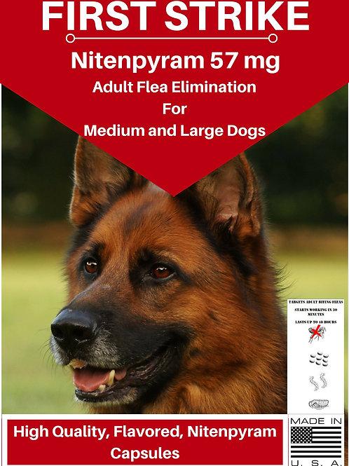 Large Dog Flea killer 57 mg Select Count