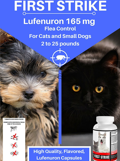 Flea Control, For Cats and Small Dogs