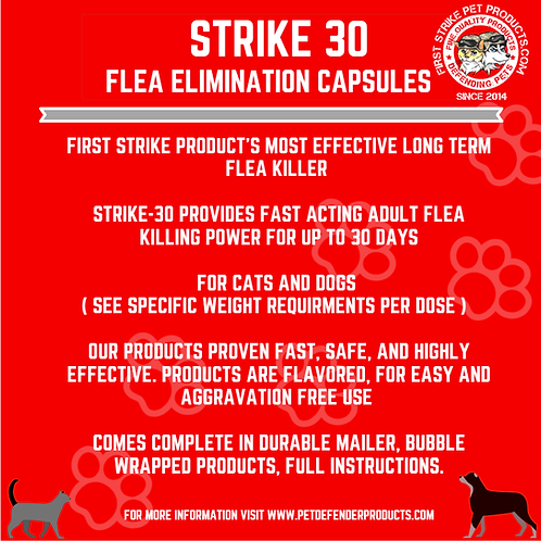 Strike 30 Flea killer Powder only