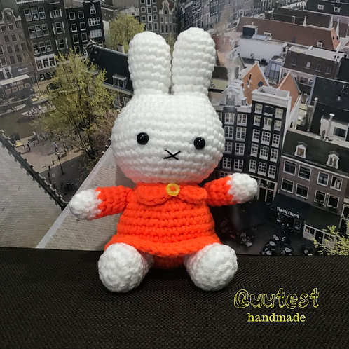 Miffy in Orange Dress