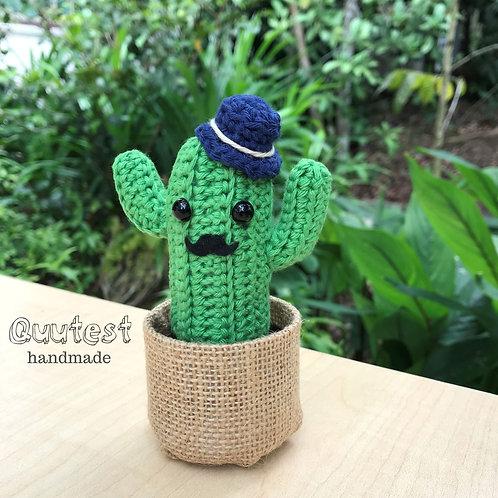 Mr Gambatte (Blue Hat)