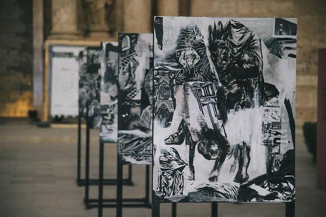 BYE Borja Moreno & Esteban Ferrer ¿Quien mato a las ardillas? Installation 2019