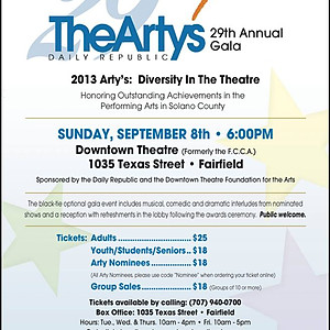 The 29th Annual Arty Awards