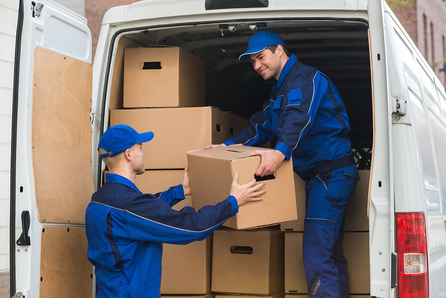 Removalists Delivery Truck Loading