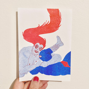 LETS GET PHYSICAL (risograph)