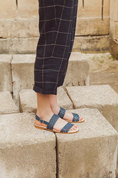 MERCAT jeans - Sandalia mujer