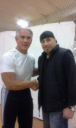 With Childhood idle Ricky Steamboat