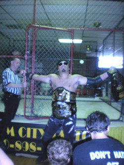 Cage Match for WPW Title