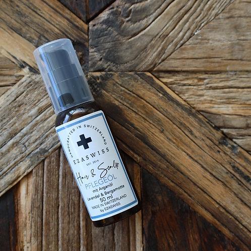 EZASWISS Hair & Scalp Pflegeöl Lavendel & Bergamotte