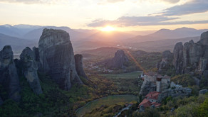 Visiting Athens and Meteora in Greece