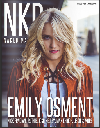 Emily Osment, NKD Mag