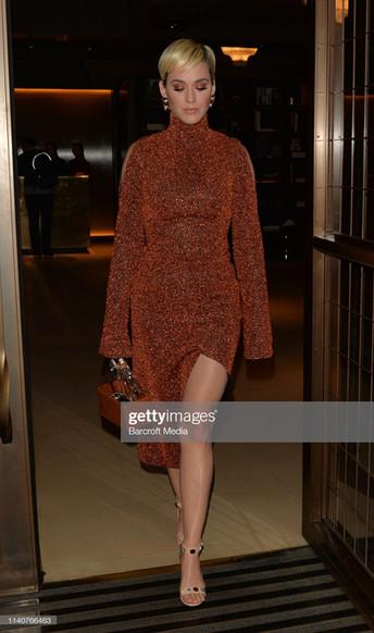 Katy Perry, London Appearances - American Idol Press Tour