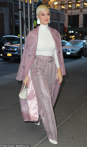 Katy Perry, NY Appearances - American Idol Press Tour