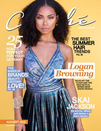 Logan Browning, Cliche Mag