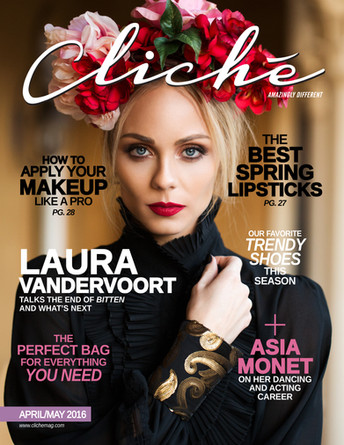 Laura Vandervoort, Cliche Mag