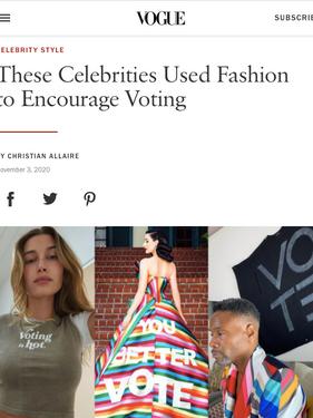 Dita Von Teese, Vogue