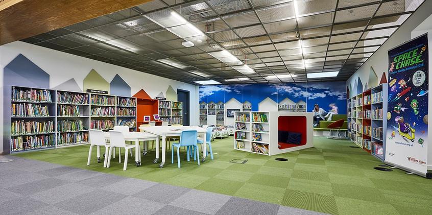 Barnsley Library.