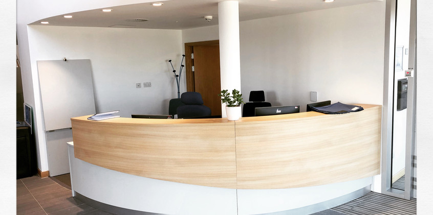 St Andrews University Receptionion.
