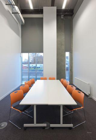Meeting room set up.