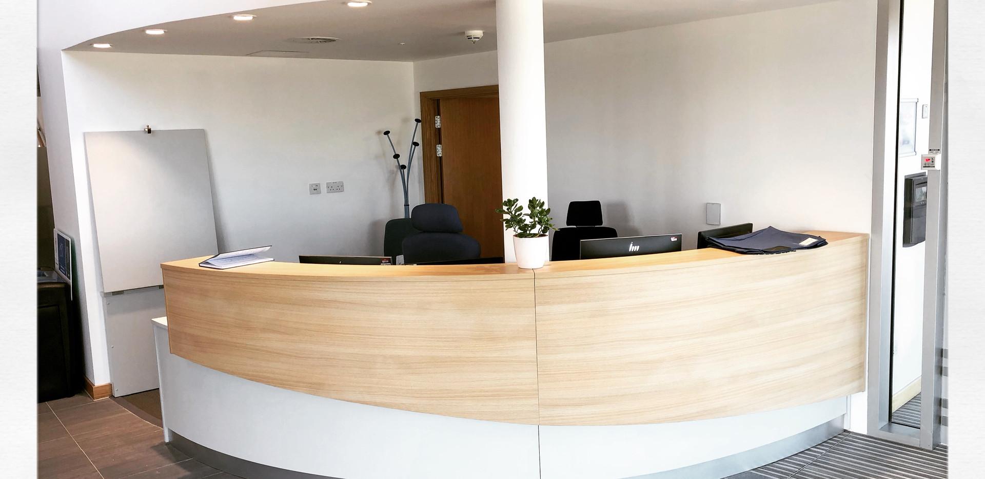 St Andrews University Reception.