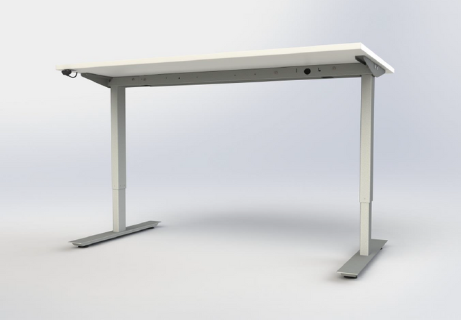 Electric height adjustable.
