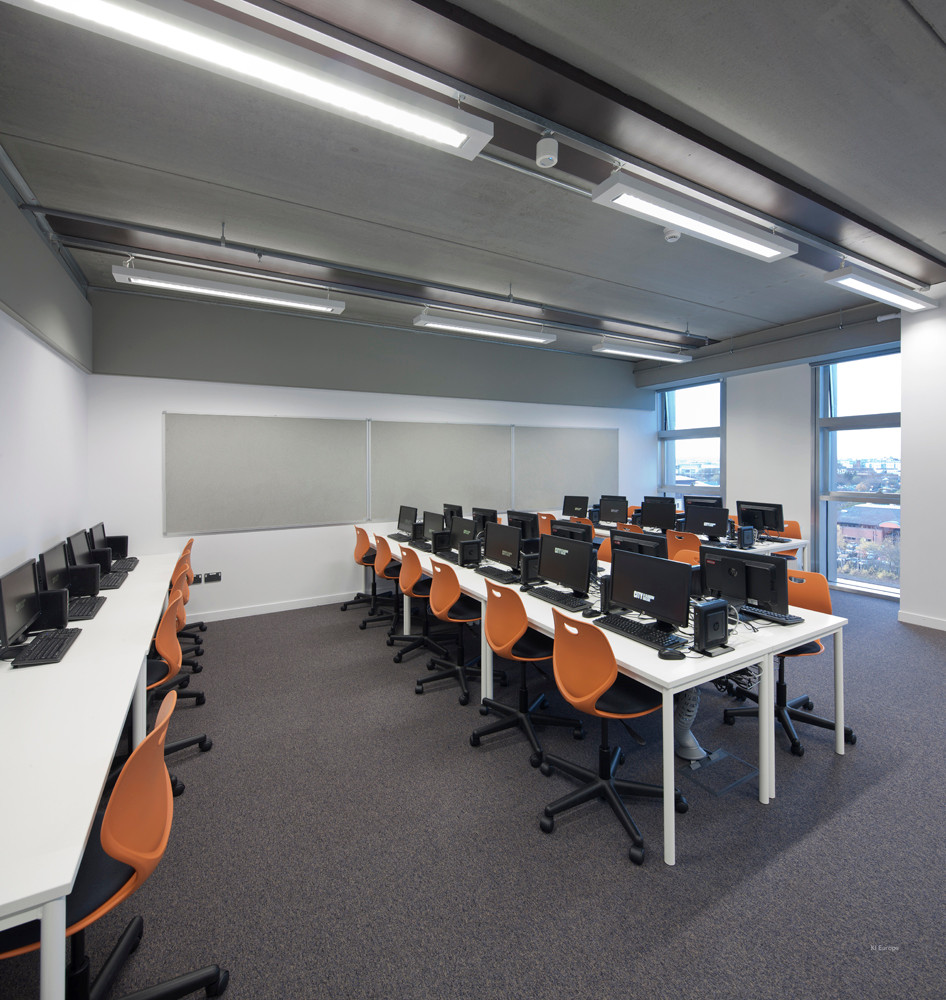 Classroom set up.