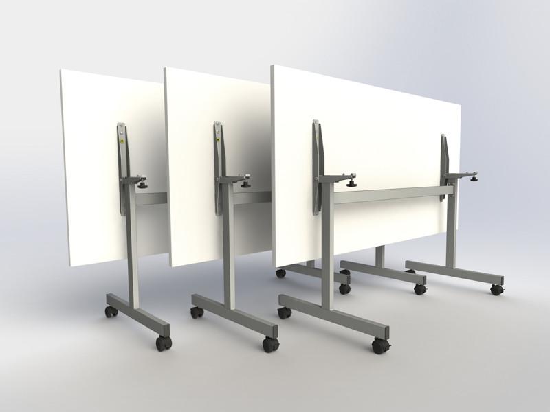 Tilt top tables.