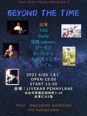 6/26(Sat) BEYOND THE TIME