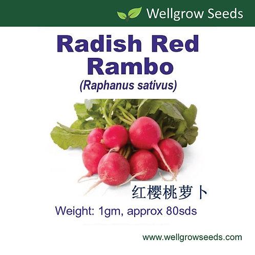 Radish Red Rambo