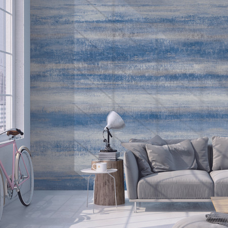 Mural Blue