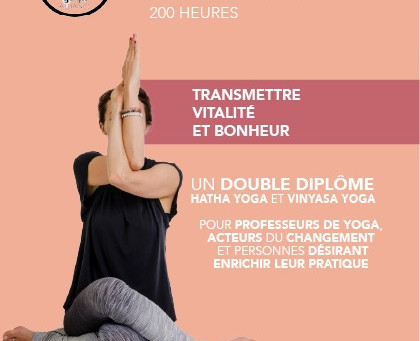 Formation Professeur de yoga 200h Yoga Alliance