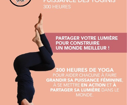 Formation Professeur de yoga 300h