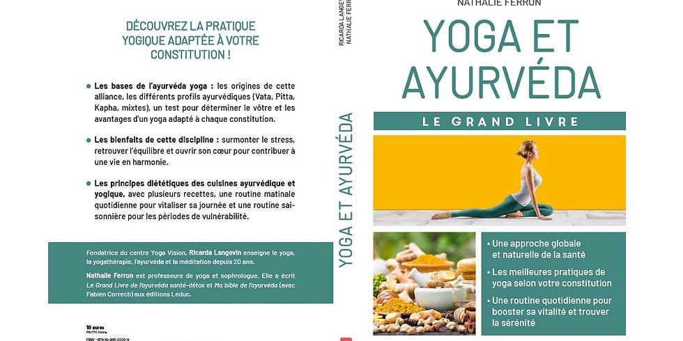 """Conférence - Présentation du livre """"Yoga et Ayurvéda"""""""