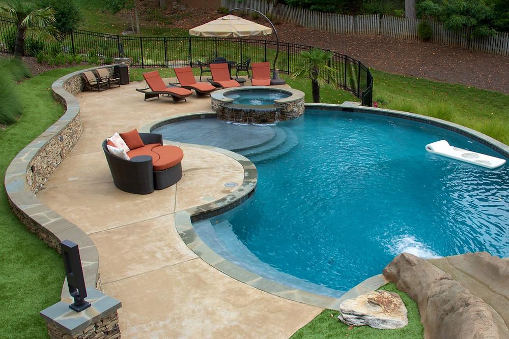 Backyard Pool Bloomfield Hills