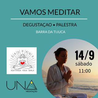 Barra da Tijuca!  Vamos Meditar no próximo sábado :)