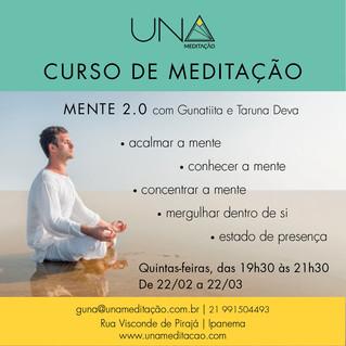 Inscrições abertas para o Curso de Meditação da UNA