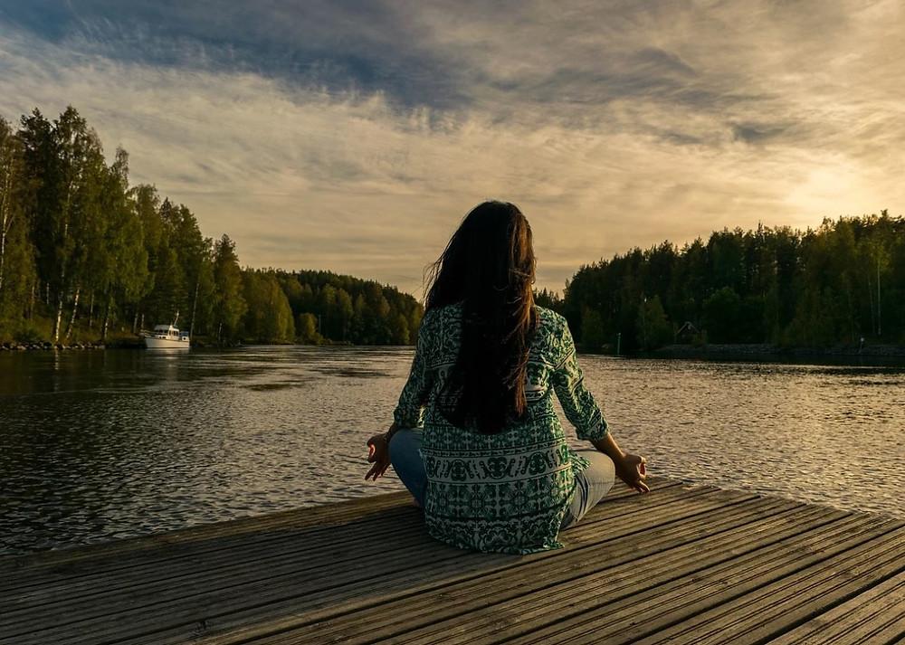 Meditação Pixabay