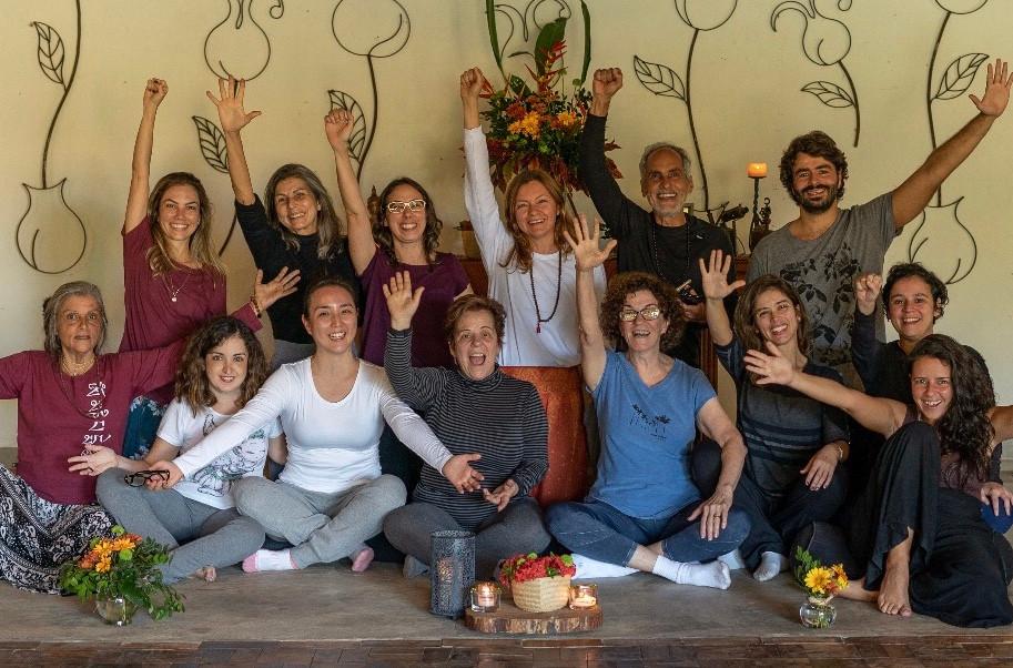Retiro da UNA Meditação junho 2019. Foto: Pedro Kiua