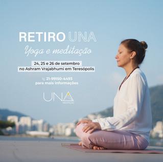 RETIRO UNA Yoga e Meditação