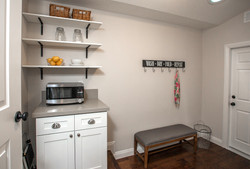 Staging Mudroom