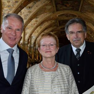 Herr Reuter, Frau Eitel und Herr Kammler